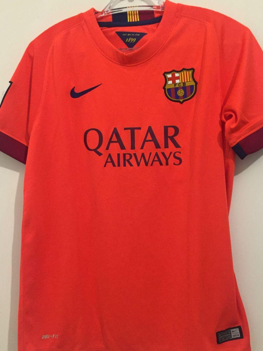 camiseta de futebol do barcelona infantil - menino nike 63db5a65517