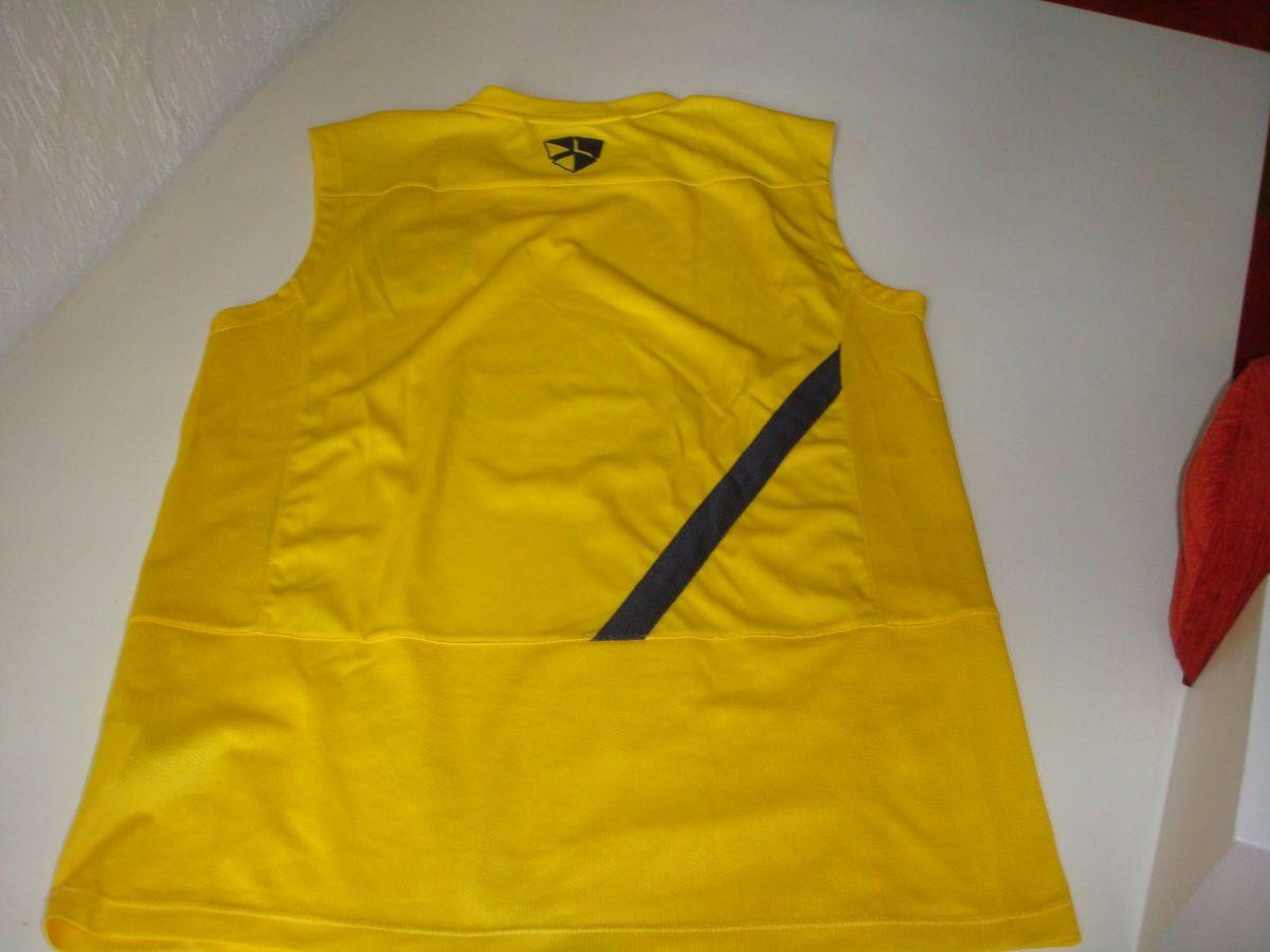 Camiseta de Treino Barcelona Amarela  adcef6454b1da