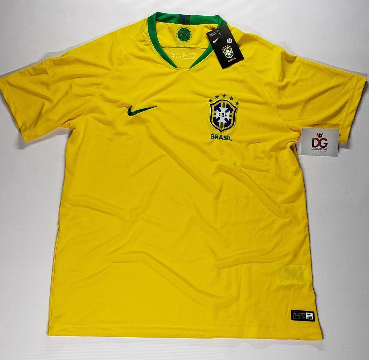 3cafc835db camiseta drifit da seleção brasileira 2018 - camisetas nike