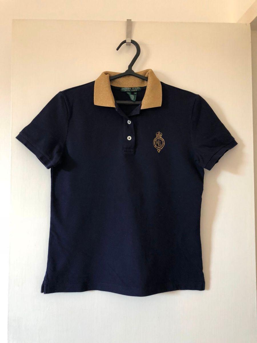 camiseta feminina polo ralph lauren original - camisetas ralph-lauren ed2708492342b