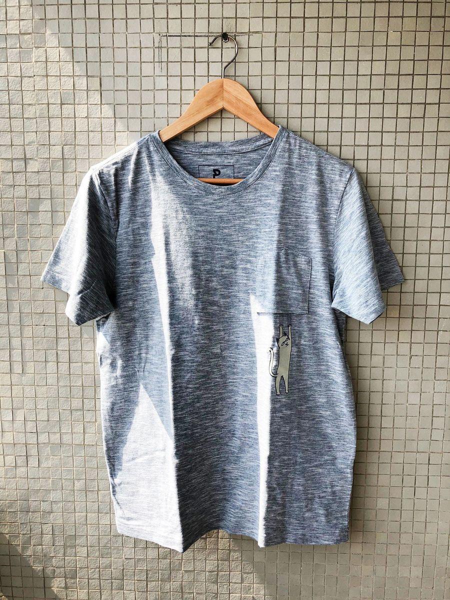camiseta gatinho - camisetas renner