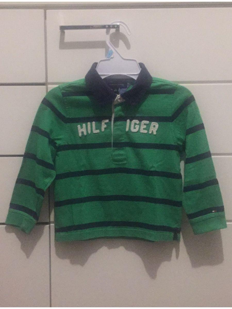 75e631f4c4958 camiseta gola polo tommy hilfiger 3t - menino tommy-hilfiger