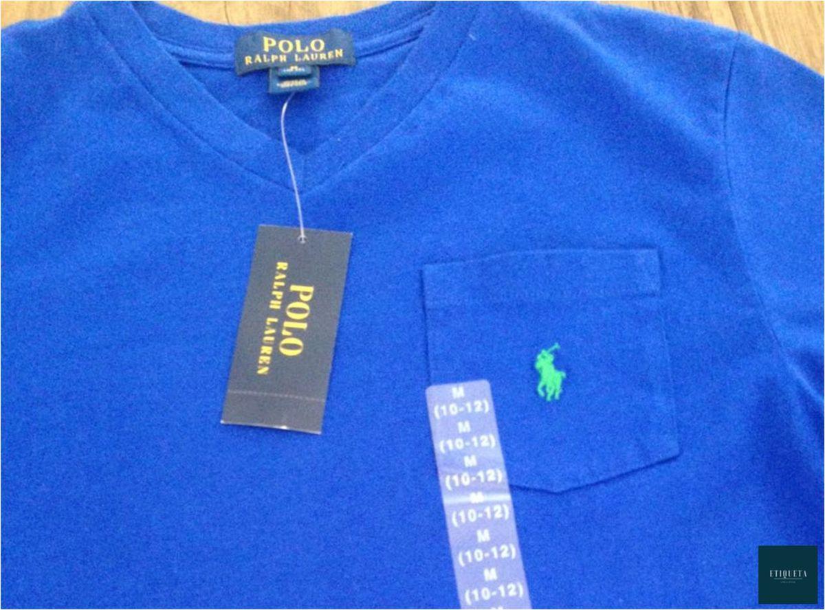 Camiseta Gola V - Nova - Polo Ralph Lauren  354d173739b