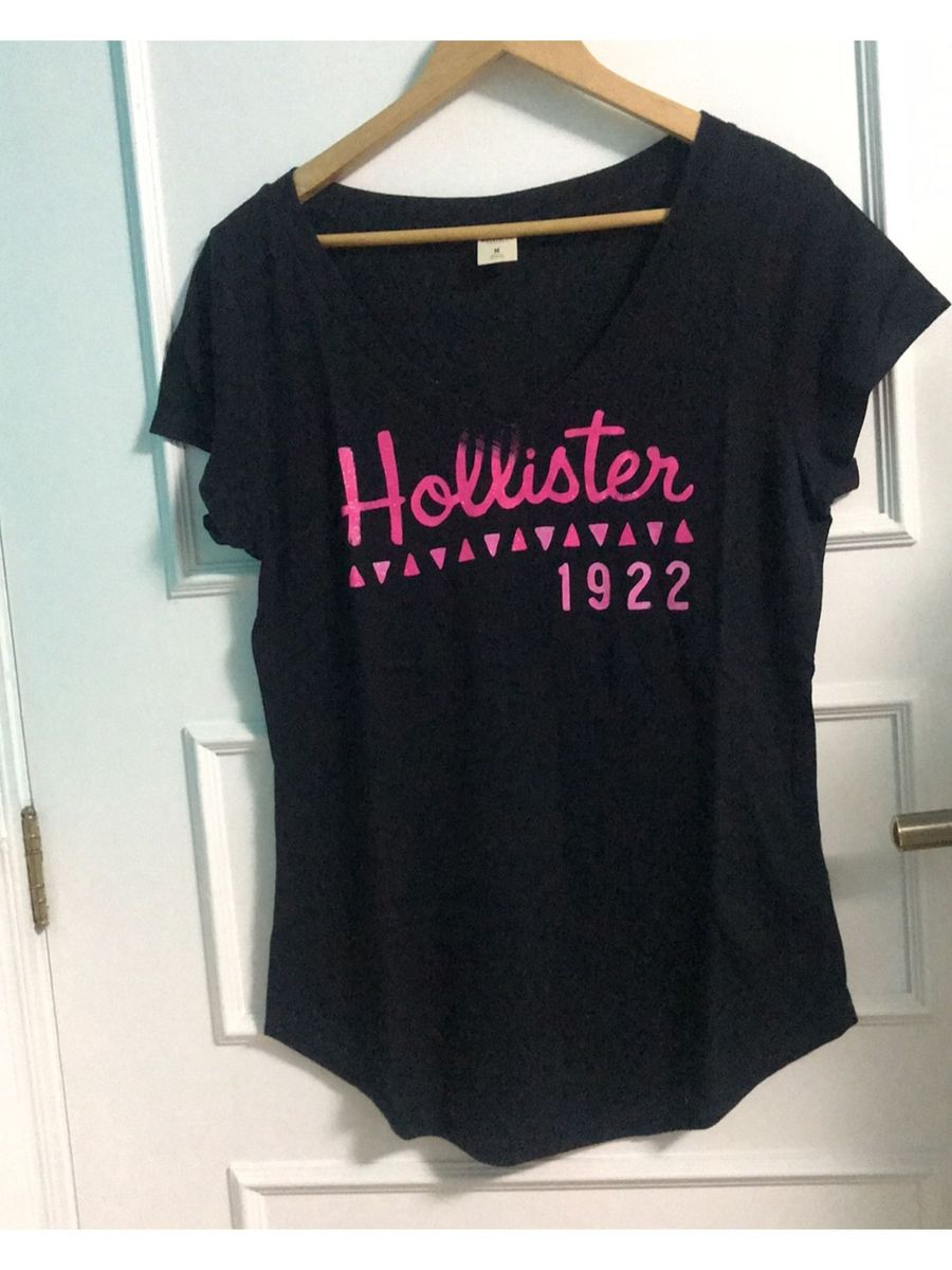 camiseta hollister preta original - camisetas hollister 8e8c66ec20bfa