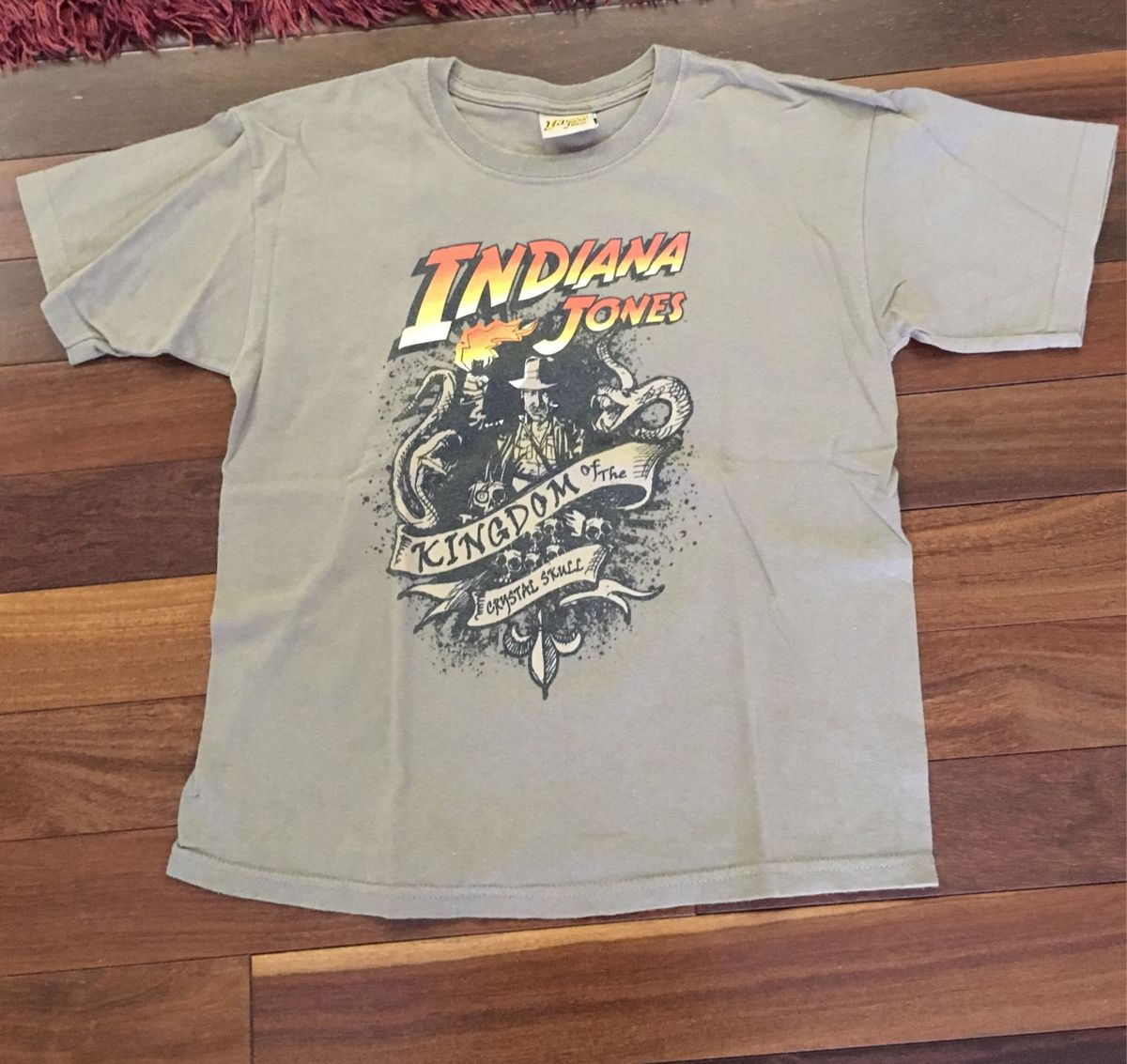 camiseta indiana jonas - menino indiana-jones-importada c49c82fc4cf