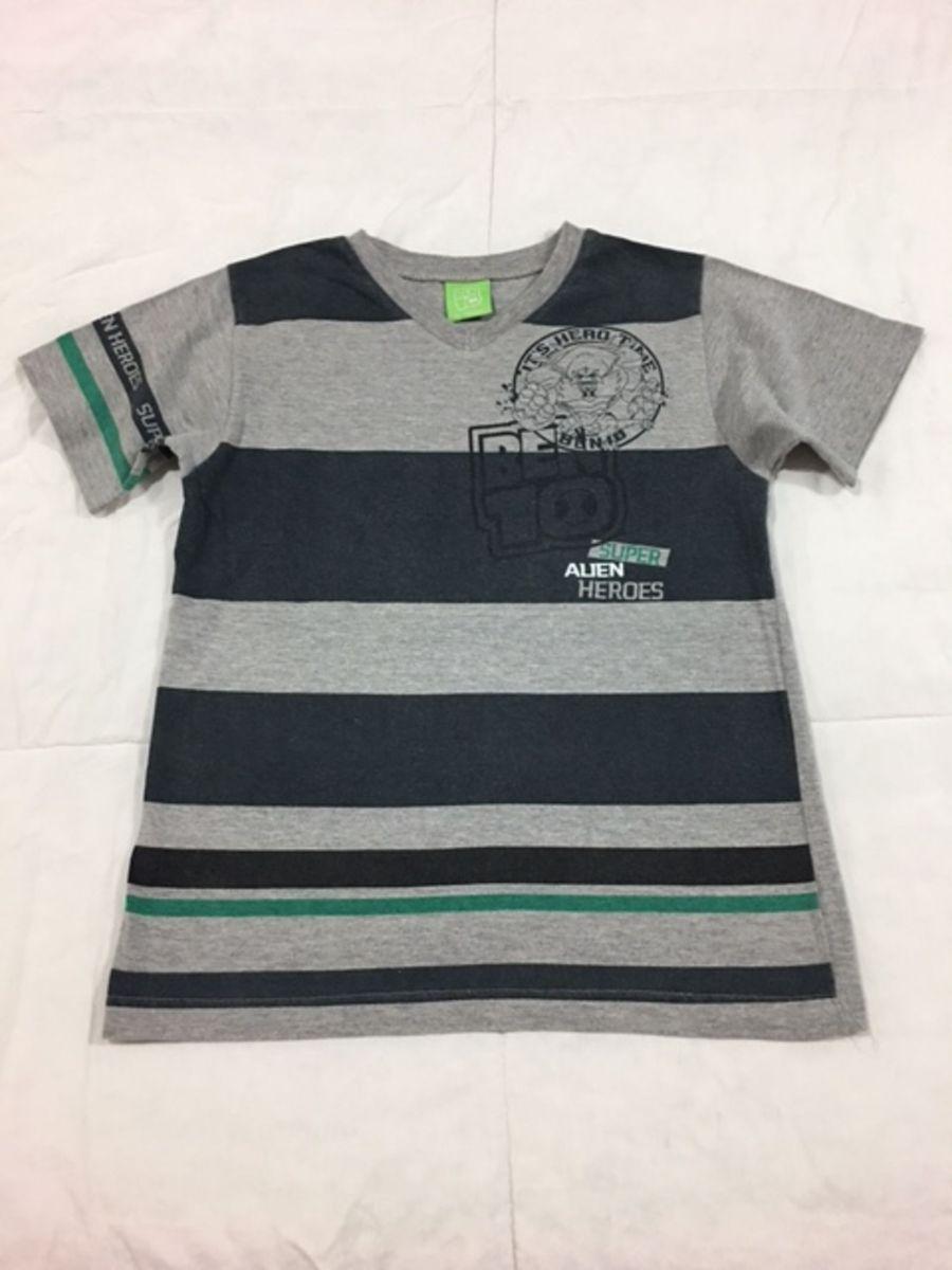 c61b87a41e9 camiseta infantil malwee ben10 tam 6 - infantil - menino malwee