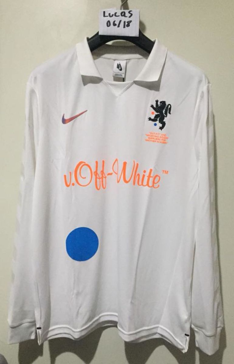 official photos a21c1 766fb camiseta jersey nike x off-white