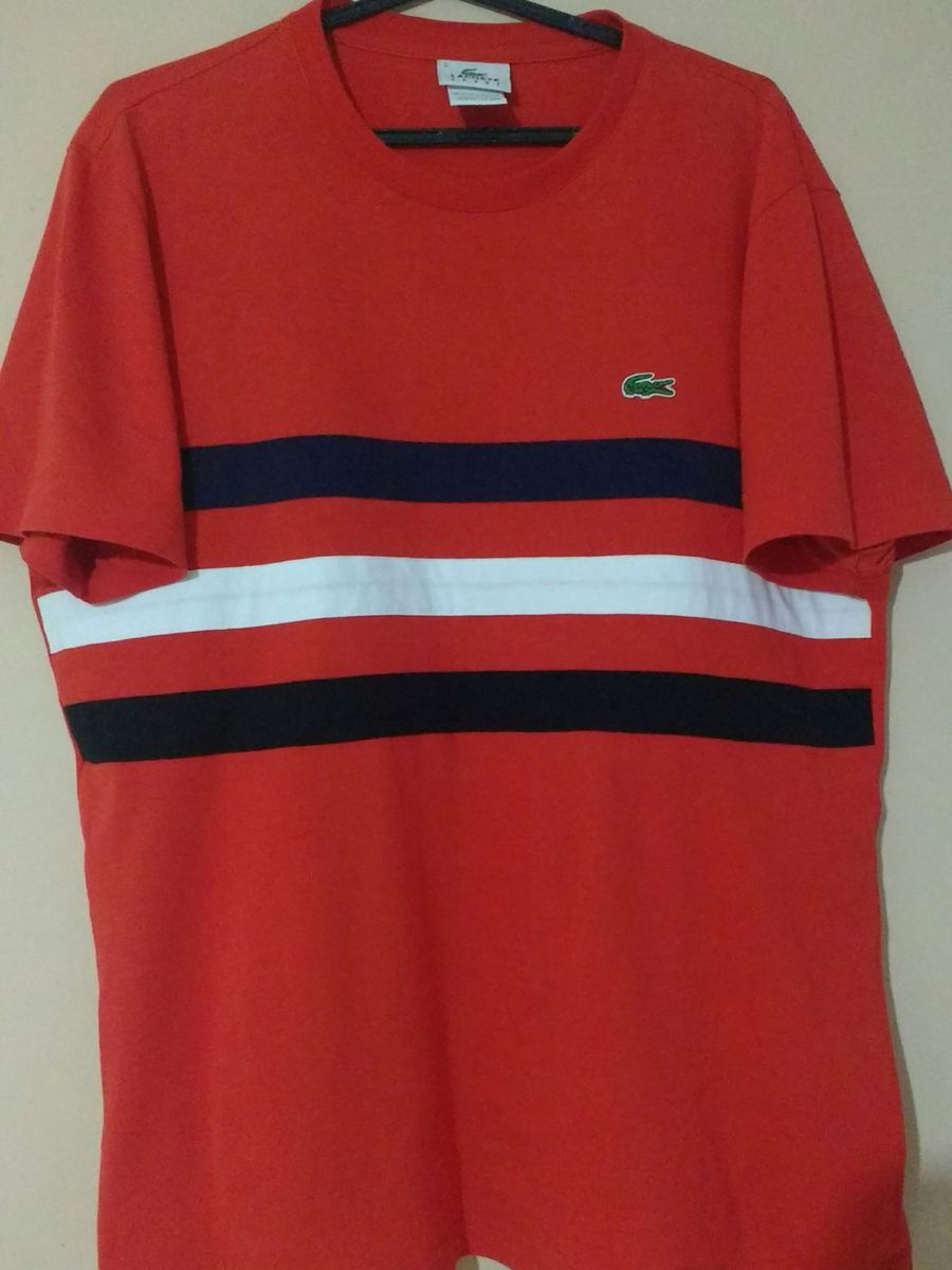 Camiseta Lacoste Sport Original   Camiseta Masculina Lacoste Usado ... 082dc14d2b