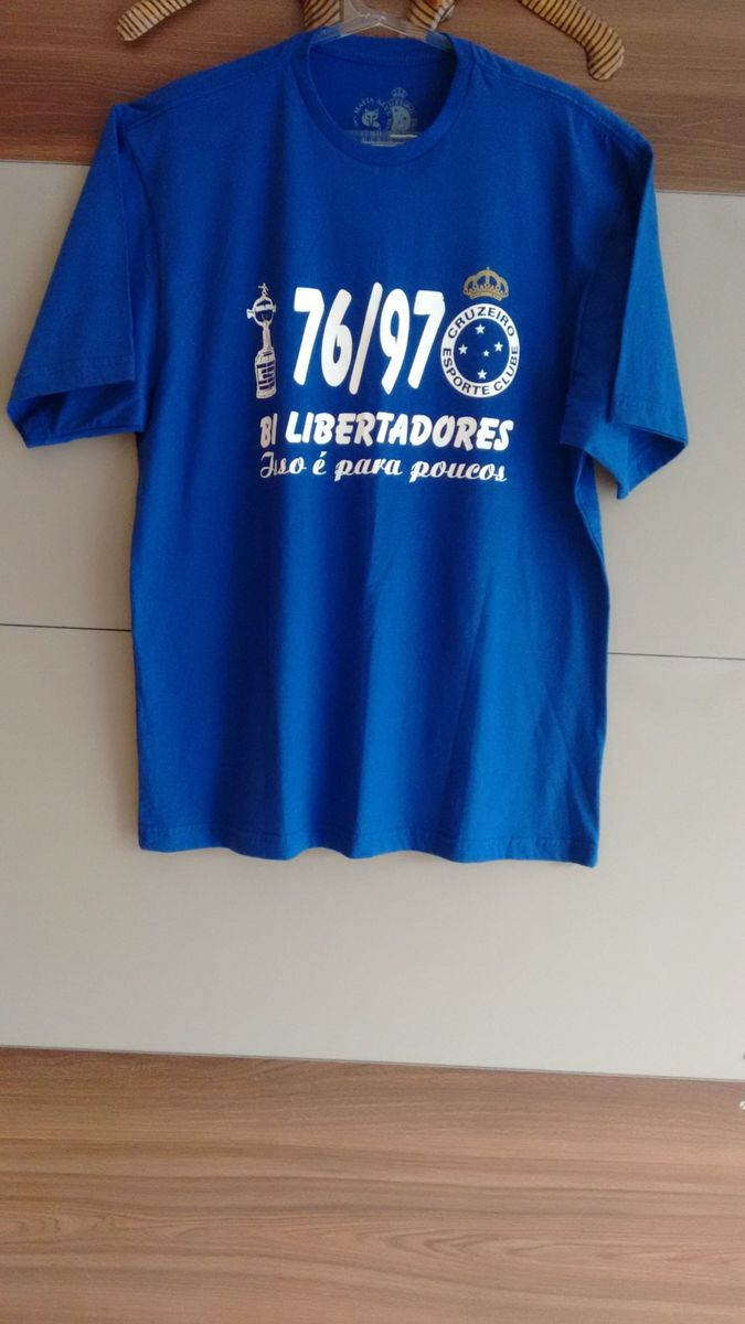 camiseta máfia azul - cruzeiro - camisetas fc sports 97a9711138cdf