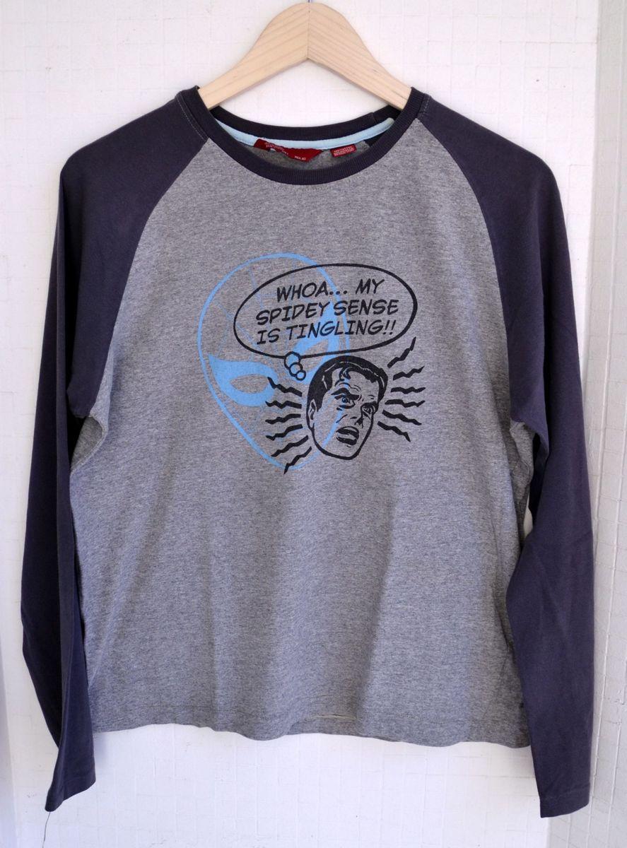 camiseta manga longa zara - camisetas zara