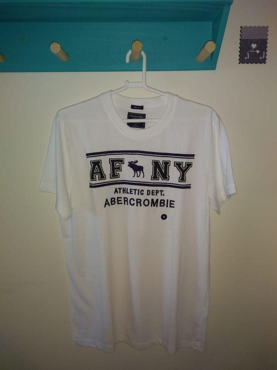 e39558aaa9 camiseta masculina abercrombie original tamanho m - camisetas abercrombie   amp  ...