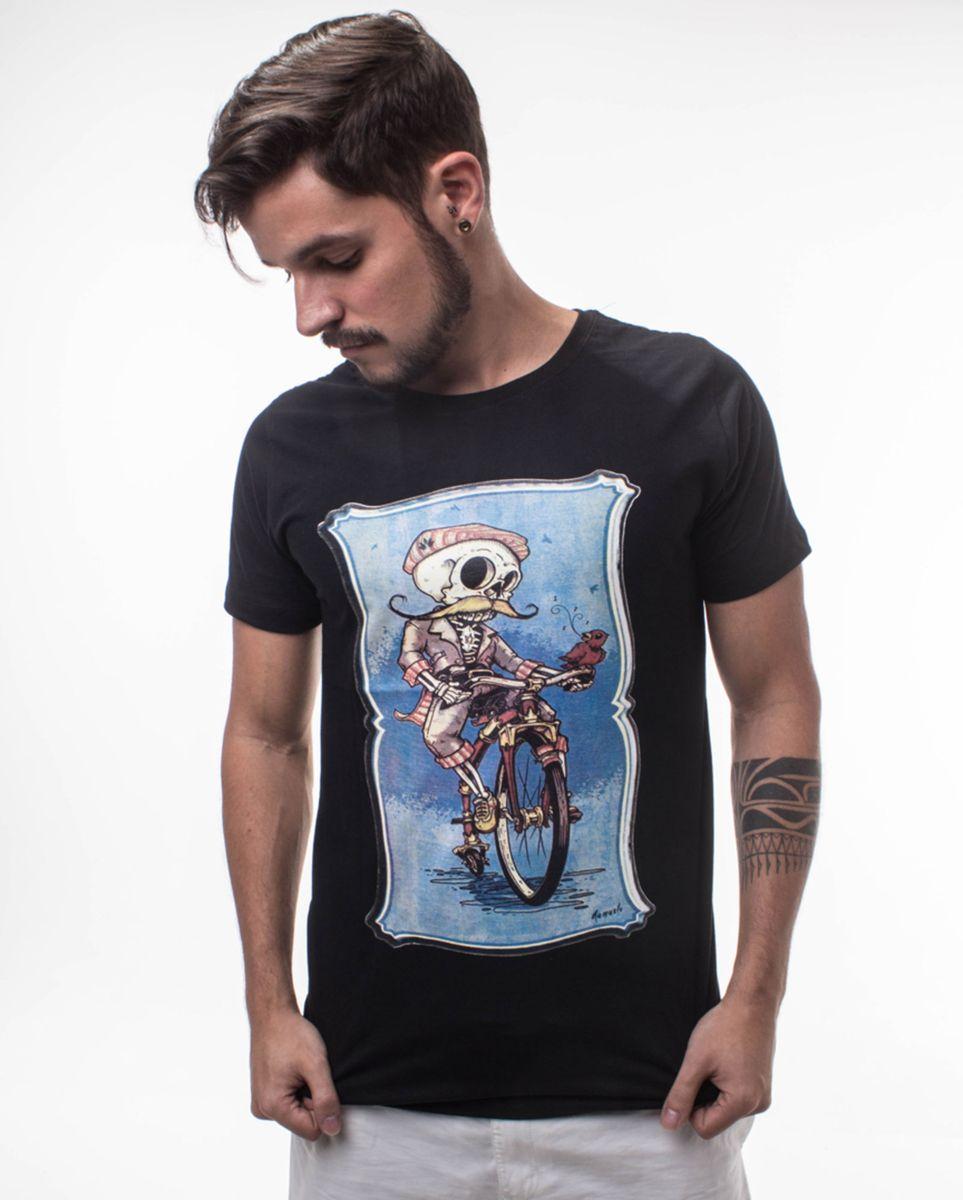 01c7b90d5a camiseta masculina caveira preta - camisetas namaste clothing