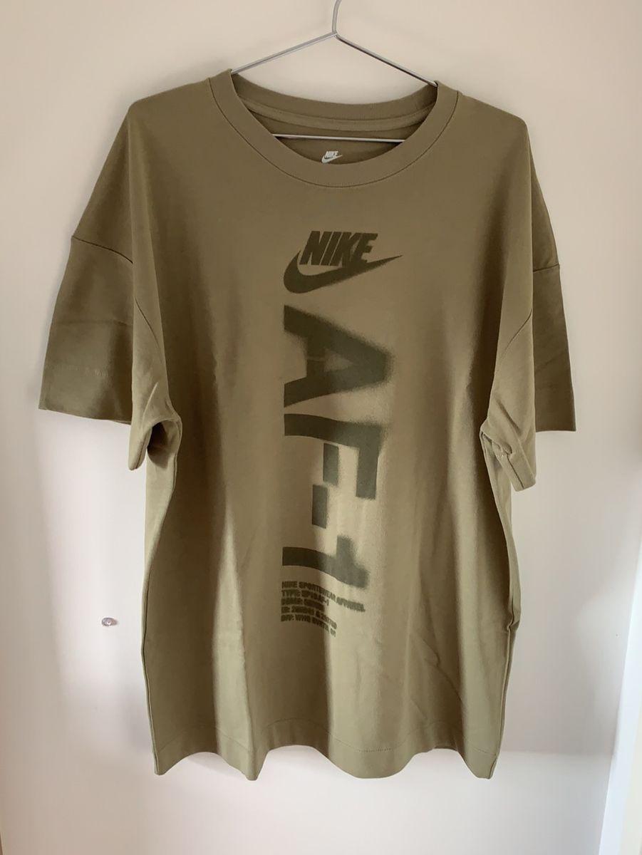vistazo Enviar loseta  Camiseta Nike Air Force 1 Verde | Camiseta Masculina Nike Usado 31890664 |  enjoei