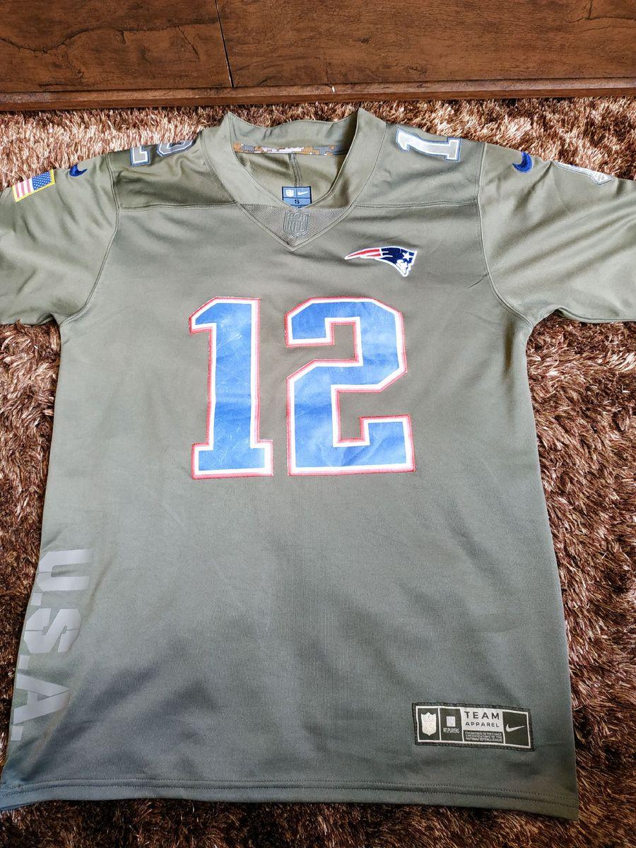 acción nitrógeno núcleo  Camiseta Nike Futebol Americano New England Patriots Tom Brady Usada Pronta  Entrega | Camiseta Masculina Nike Usado 38549055 | enjoei
