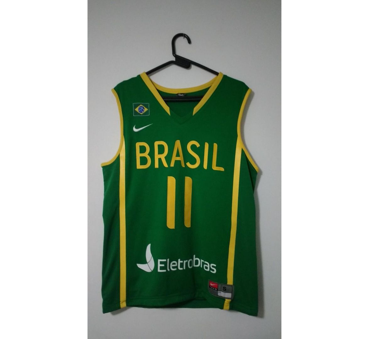 camiseta oficial da seleção brasileira de basquete - camisetas nike a4ef8f74ed3fd