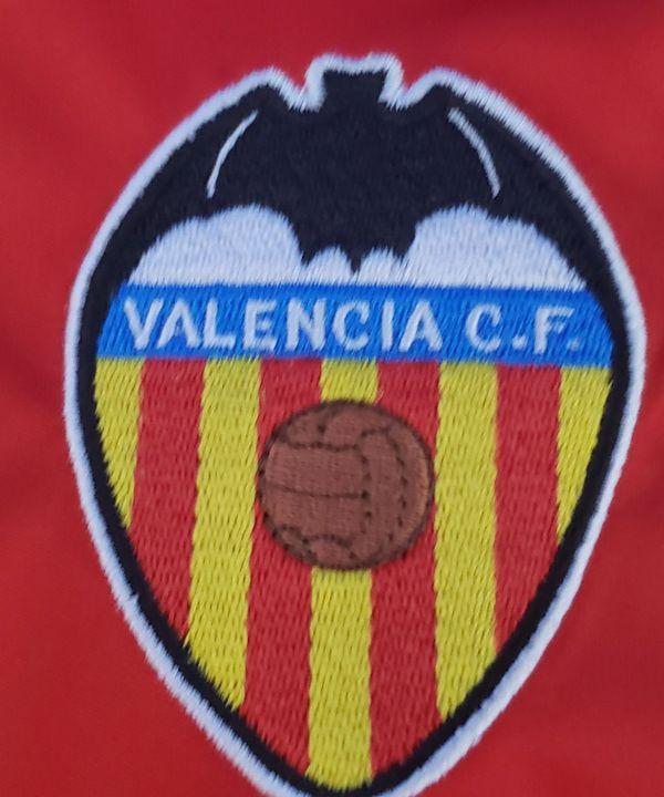 Camiseta Original de Futebol Infantil Valencia  7ebb3a21472ab