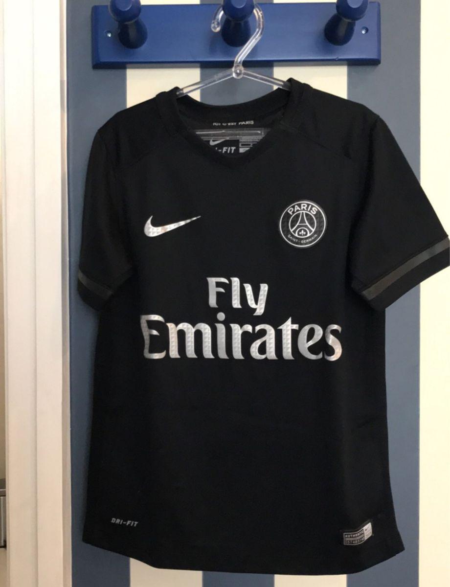 camiseta paris saint-germain original! nova - menino nike 32bd180e342bc