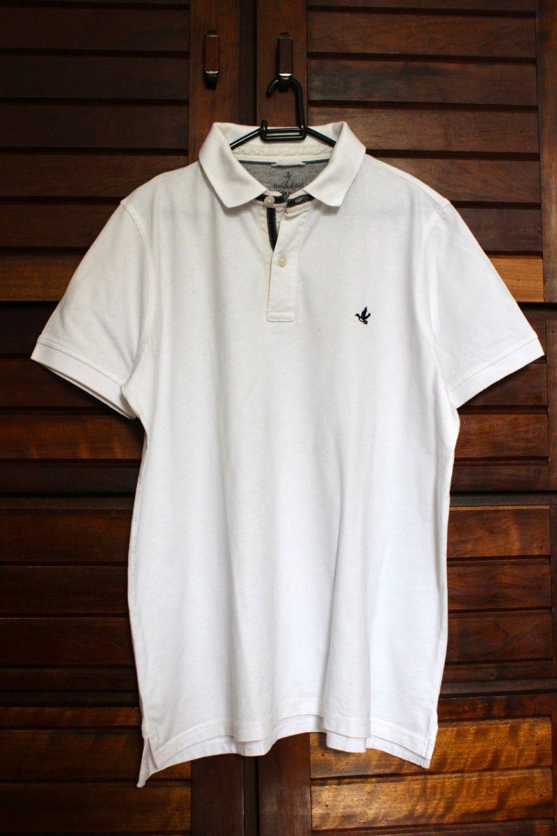 4eee976caeb camiseta polo branca brooksfield - camisetas brooksfield