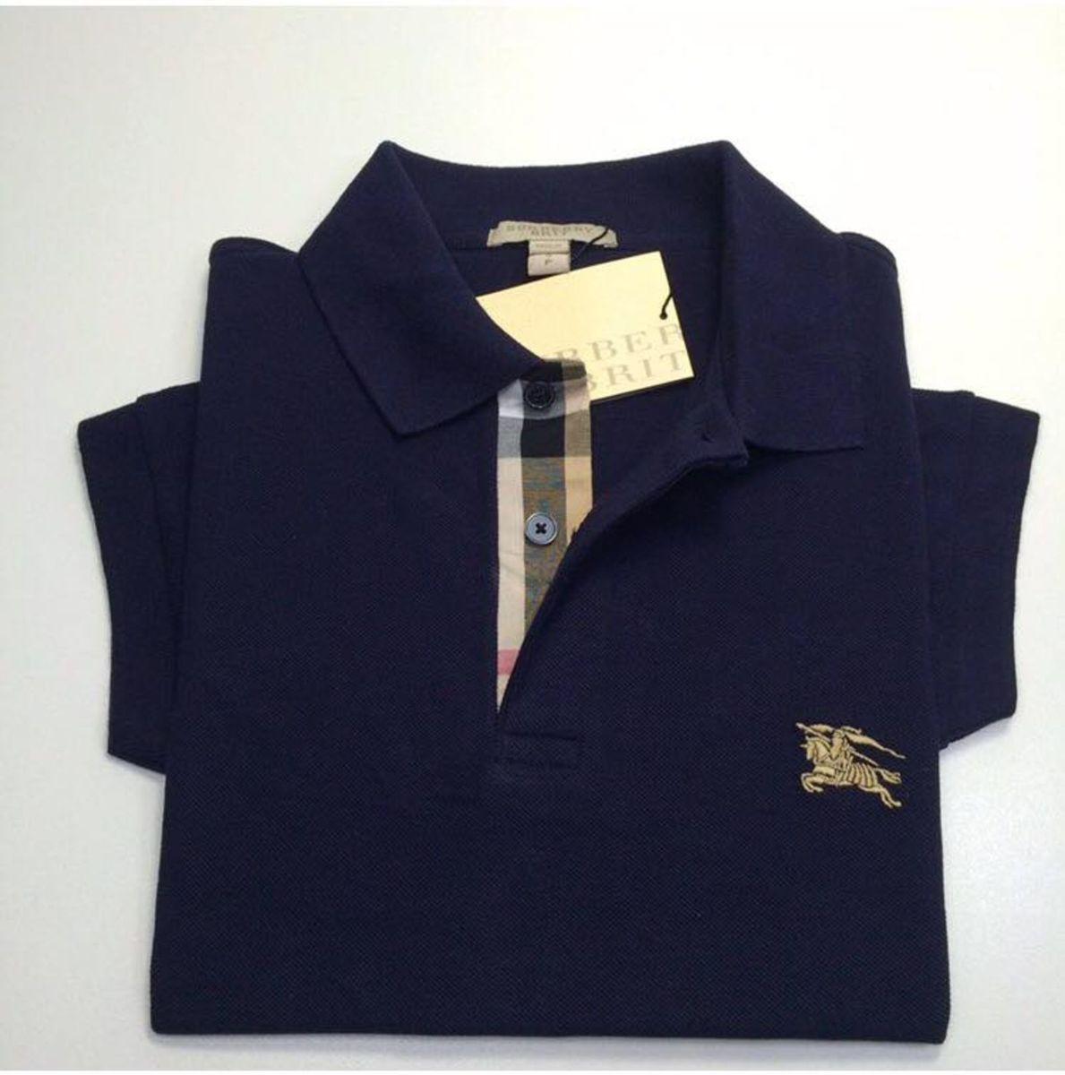 ac5ba03905 camiseta polo burberry brit tamanho g - camisetas burberry