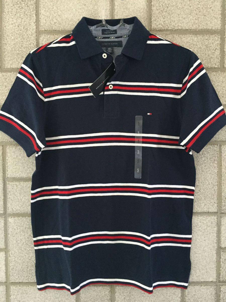 polo tommy hilfiger camiseta masculina - camisetas tommy hilfiger 695dc48f47b14
