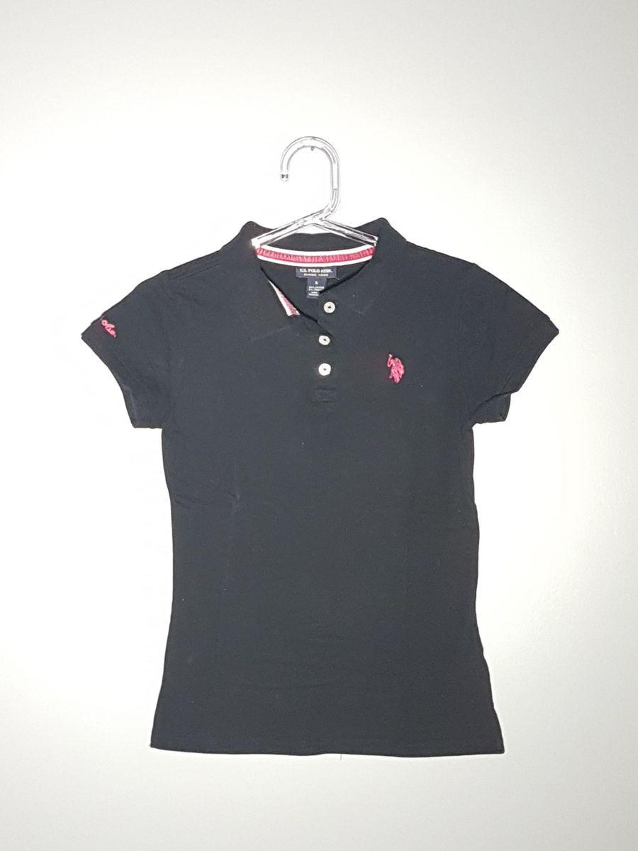 247a878894 ... 88367ddb75f Camiseta Polo Us Polo Original Camiseta Feminina U.S Polo  Usado .. ...