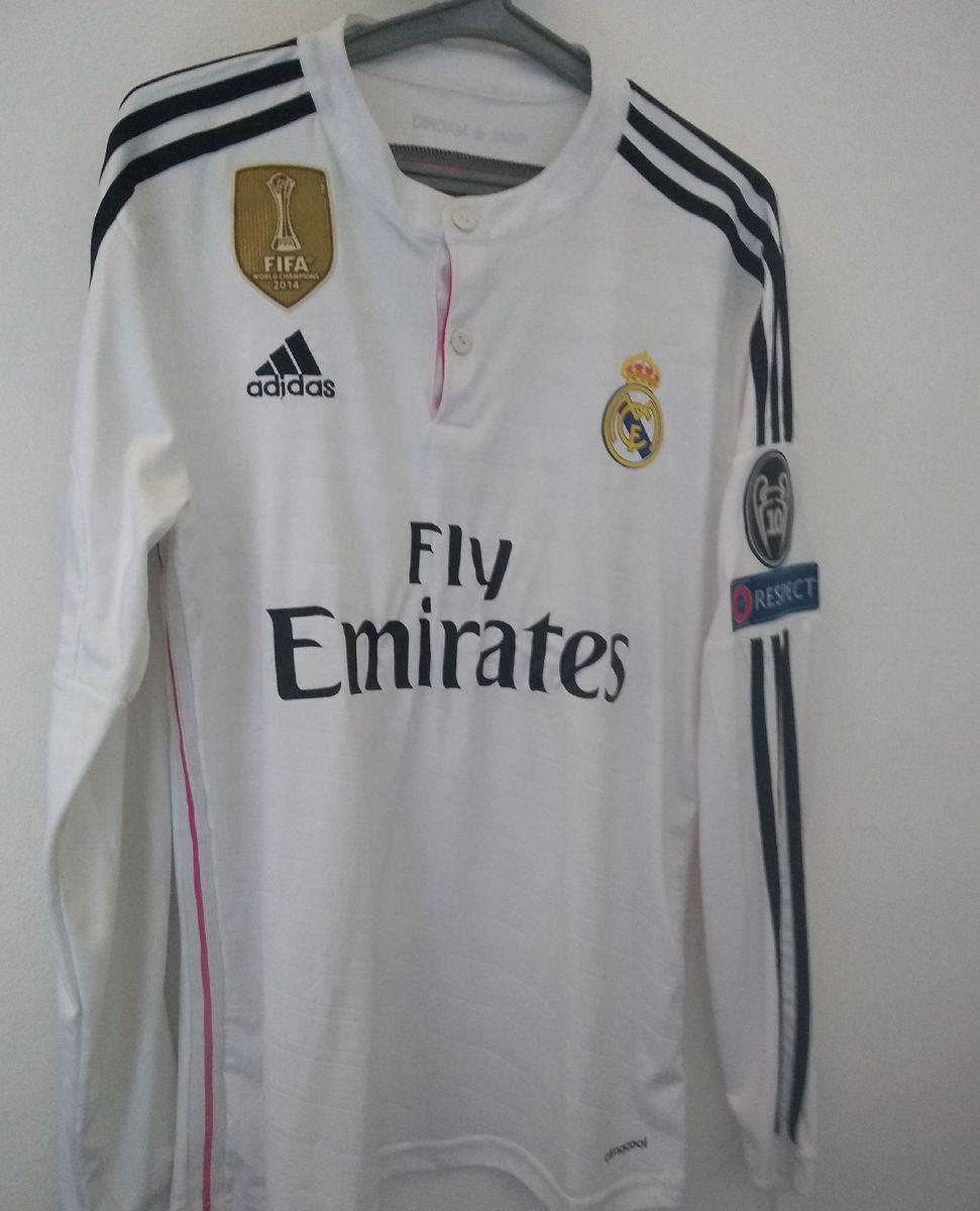la licenciatura Mirar fijamente repetir  Camiseta Real Madrid - Cristiano Ronaldo | Camiseta Masculina Adidas Usado  35644158 | enjoei