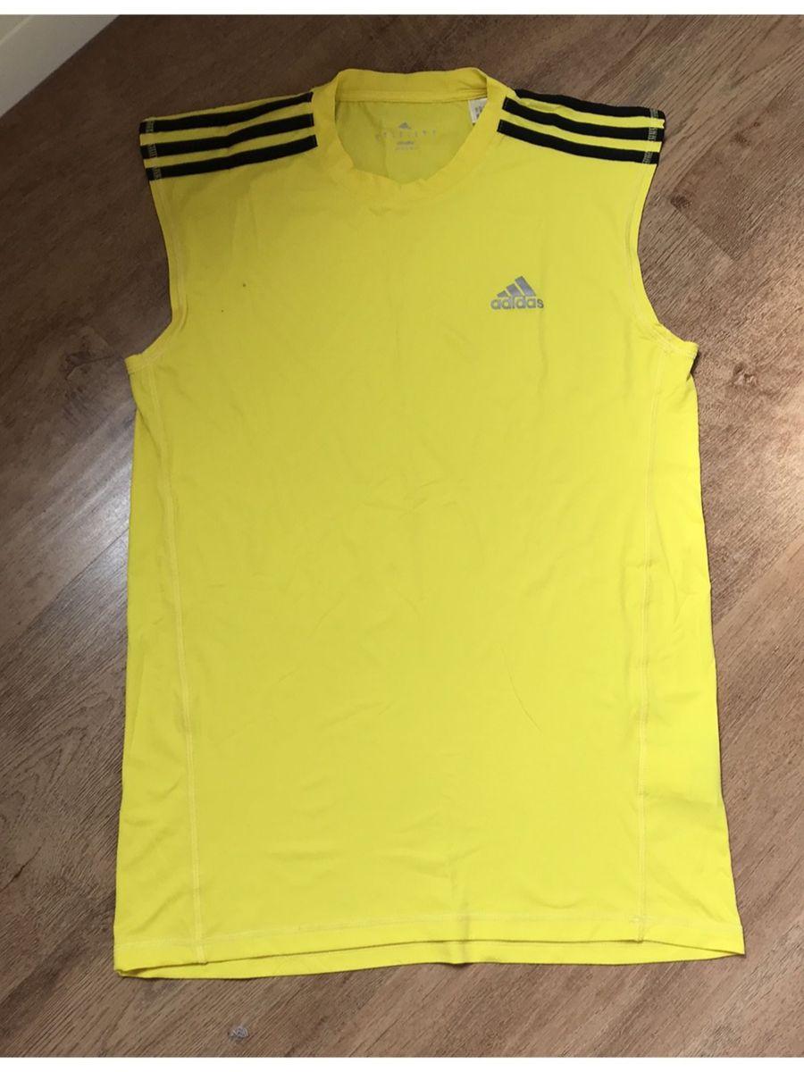 camiseta regata amarela adidas - camisetas adidas a73adb0e86a