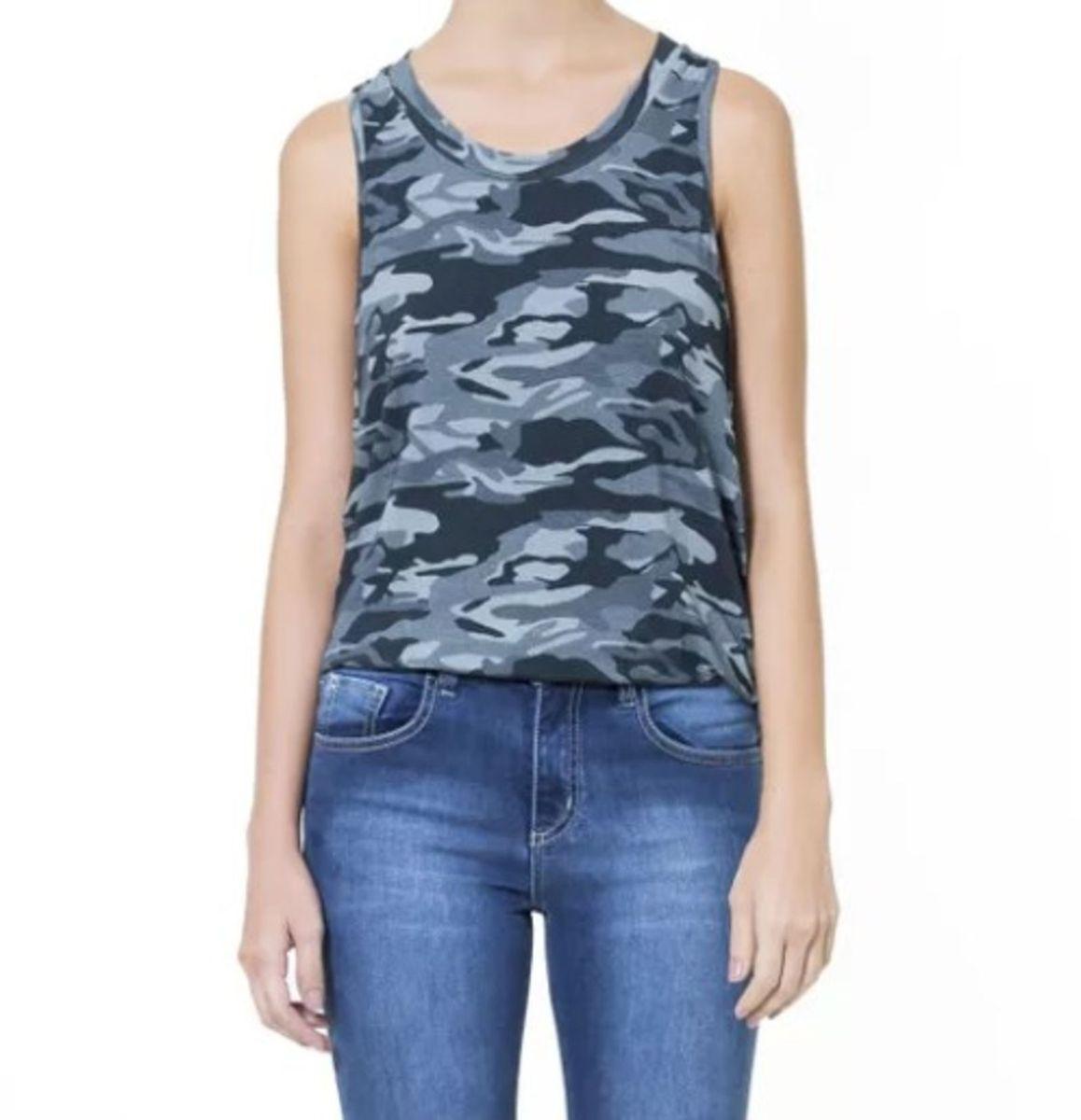 74d17e6f69ee7 camiseta regata camuflada a-teen - blusas ateen.  Czm6ly9wag90b3muzw5qb2vplmnvbs5ici9wcm9kdwn0cy83nde4oc9knmrhn2mwotdkmjiwyjyynda4zge1nmywmtgxywq1yy5qcgc  ...