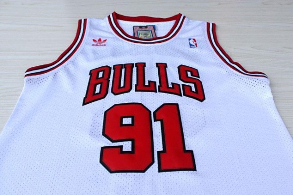 Camiseta Regata Chicago Bulls Dennis Rodman Nba  21f56a73536