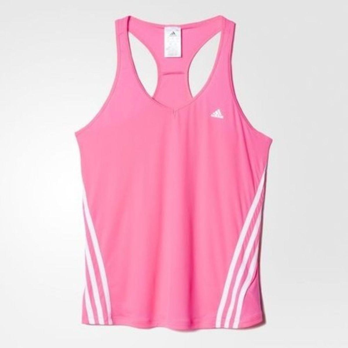 93eddc96f2 camiseta regata essentials clima 3s light weight feminina - adidas tam - g  - camisetas adidas