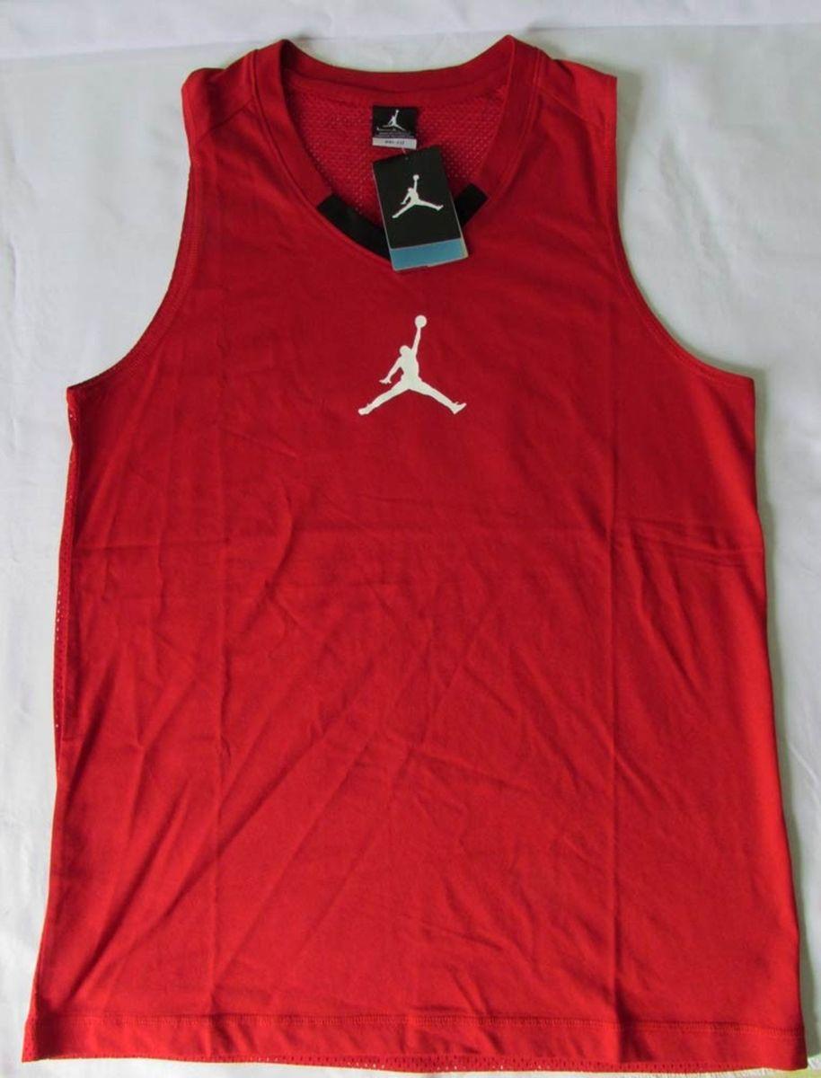 camiseta regata nike air jordan 23 rise jumpman basquete tam. g - camisetas  nike 0bd5b5ad5c4