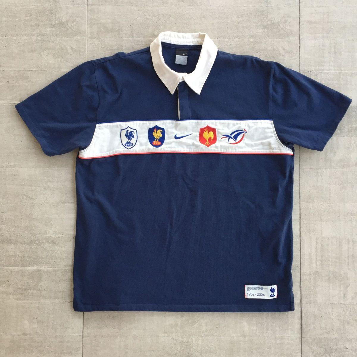 db2c1abf8e camiseta rugby seleção da frança - camisetas nike