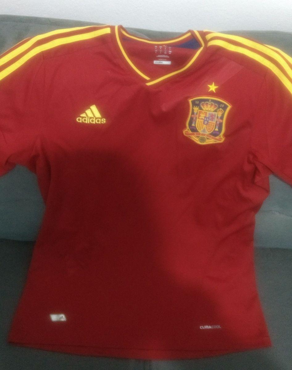 camiseta seleção espanha euro 2008 comemorativa original - esportes adidas 12189dd4818b8