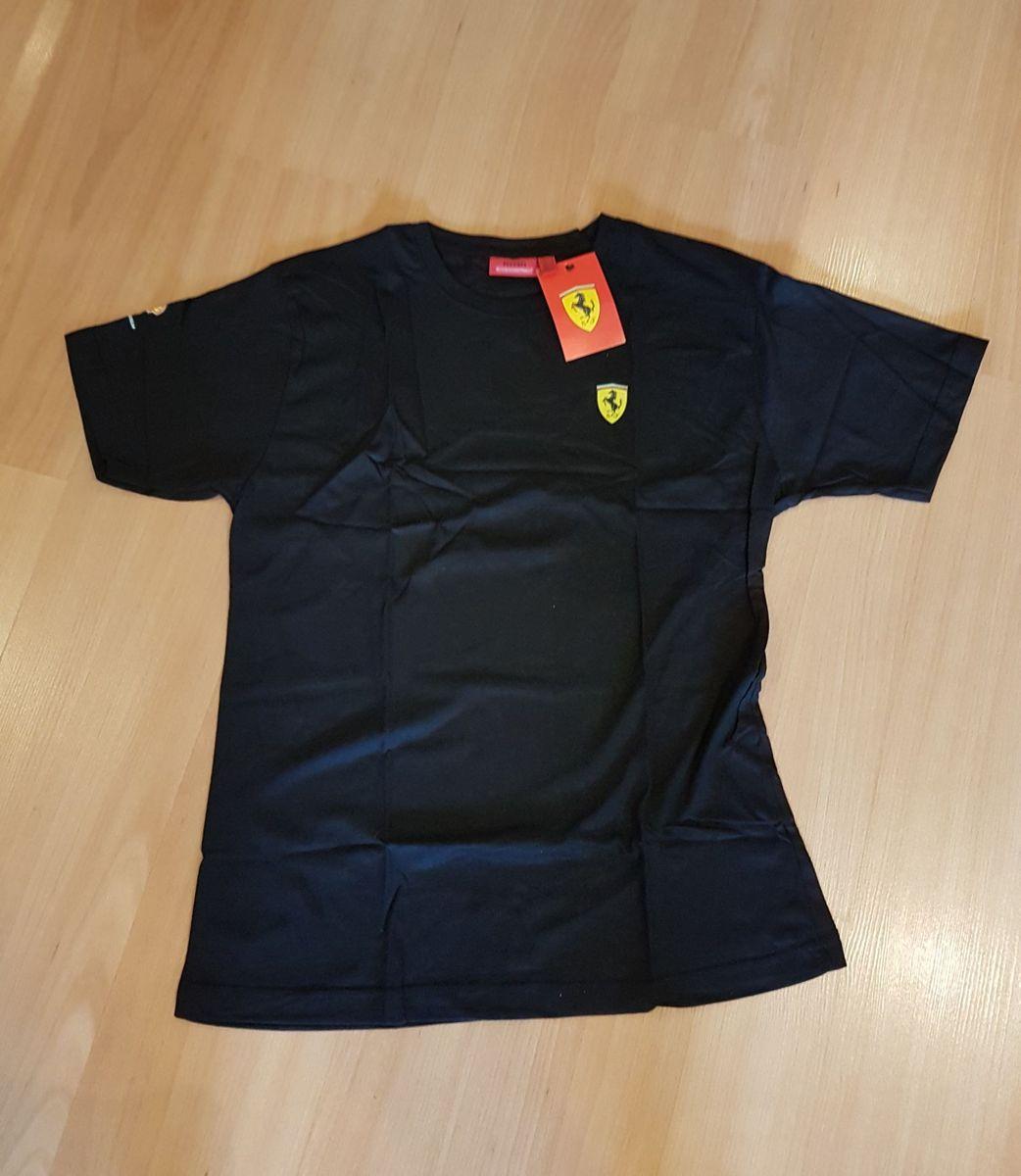 5c23df4ff1 camiseta shell ferrari original preta. - camisetas ferrari