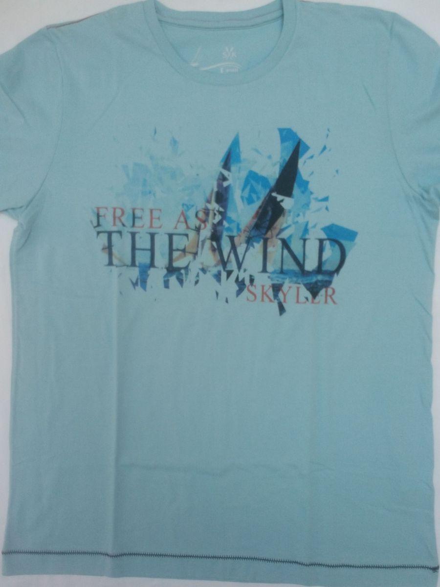 camiseta skyler alta qualidade linda oferta original em promoção - camisetas  skyler 683af508ffb