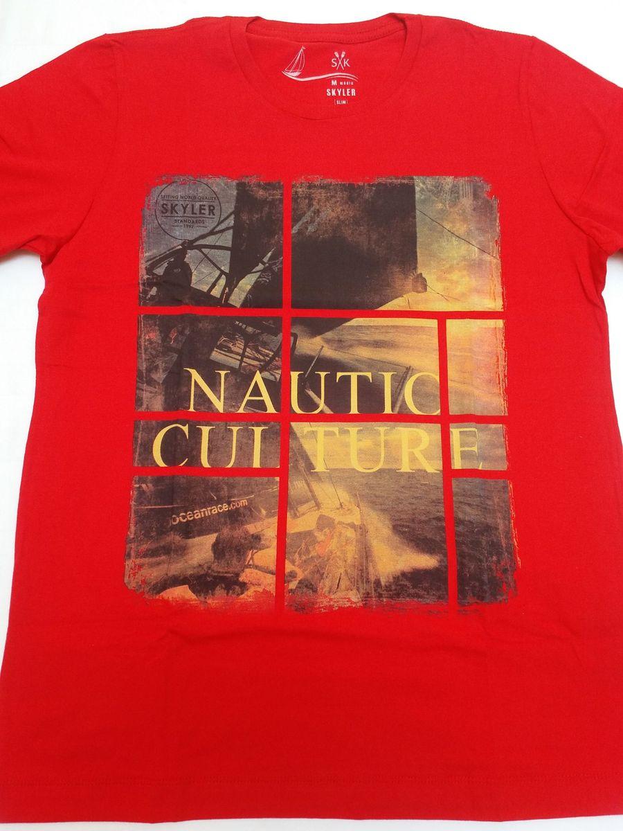 camiseta skyler original masculino oferta alta qualidade em promoção - camisetas  skyler 611371c1b51