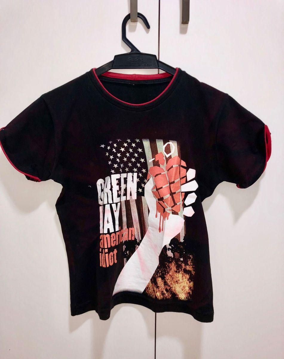892b84697ad camiseta t shirt green day infantil - menino sem-marca