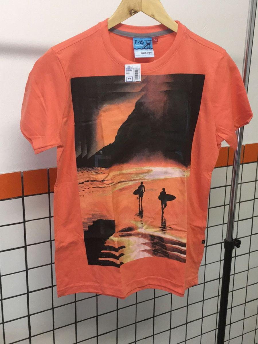 b137f814ab1 camiseta tamanho 14 nova com etiqueta - infantil - menino f-15