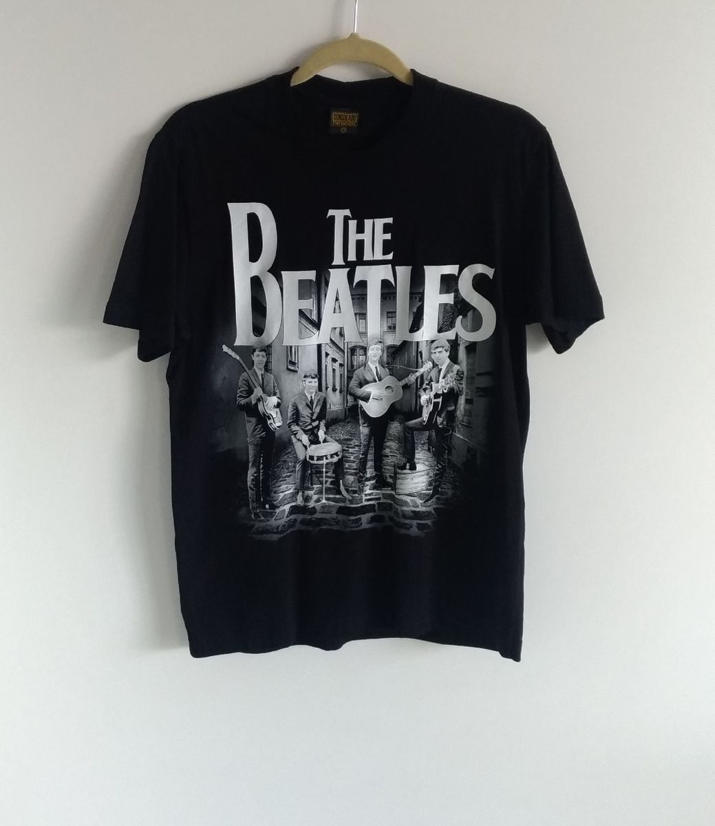 camiseta the beatles - camisetas consulado do rock