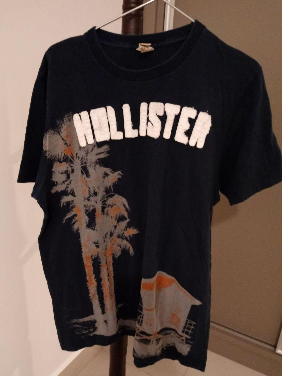 Camiseta Tropical Hollister  aa79ba51f42c7