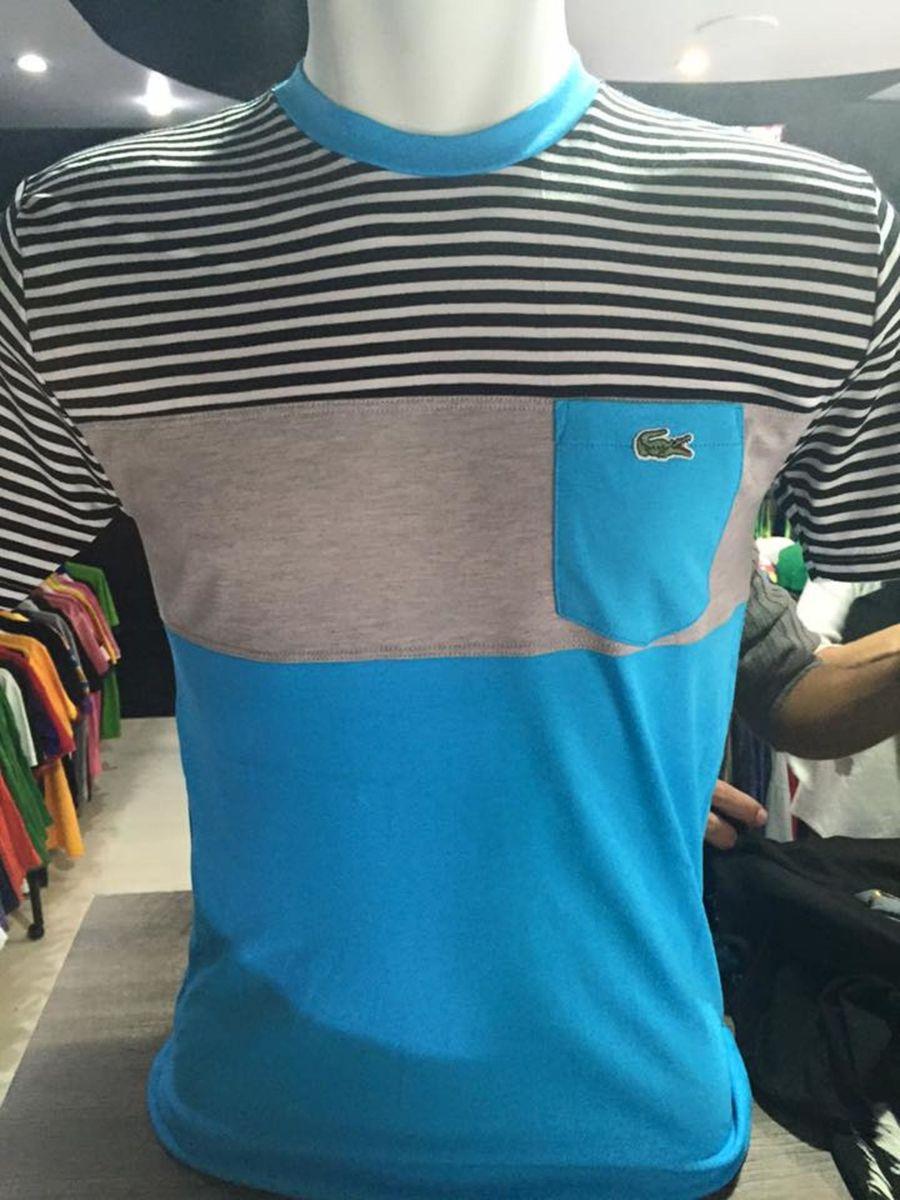 Camisetas Lacoste L!ve de Bolsinho   Camiseta Masculina Lacoste ... 60ac22fceb