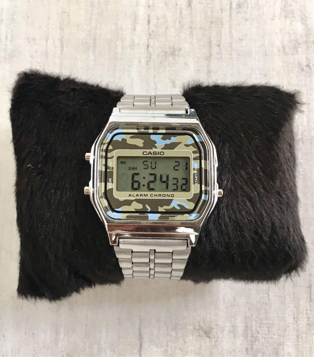a1186efd1ea camuflado prata - relógios casio.  Czm6ly9wag90b3muzw5qb2vplmnvbs5ici9wcm9kdwn0cy83ntaznjiwl2vizjqwmzjlmdvmota0mdlknzkxnzu5mtazndvkndexlmpwzw  ...