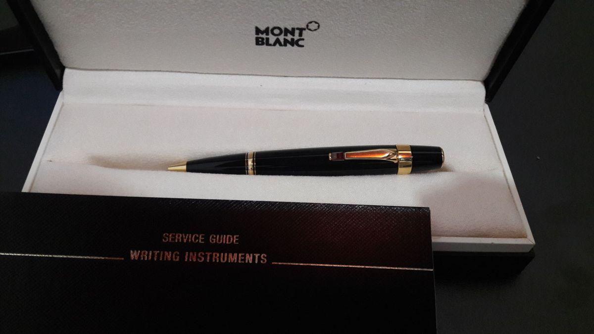 1bf246b4b94 caneta esferográfica montblanc boheme rouge - rubi - papelaria montblanc