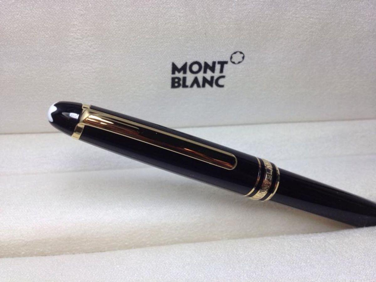 fd802a5afec Caneta Montblanc Meisterstück Classique Gold