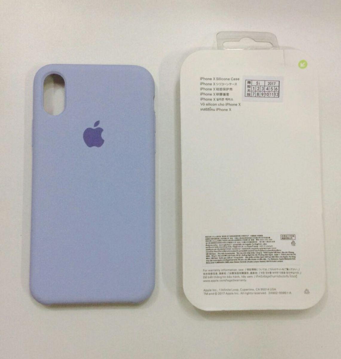 capinha de celular de silicone apple iphone x roxa com veludo dentro - iphone  apple 1b50ce0be9