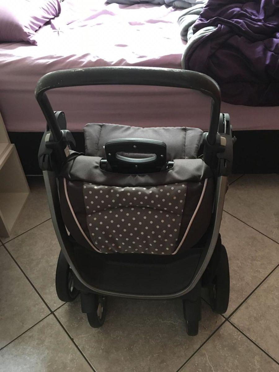 fc2106b98 carrinho chicco bravo trio travel system lilla com bebê conforto - carrinhos  chicco