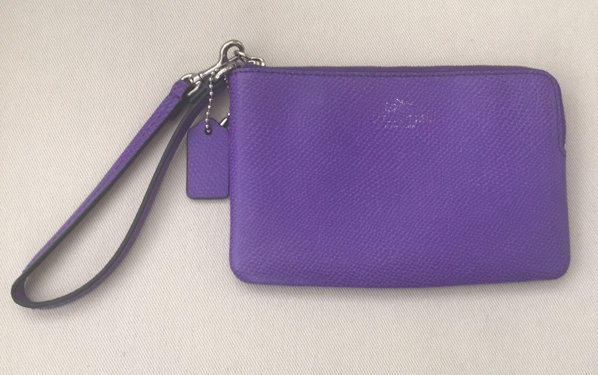 carteira de mão coach - carteiras coach