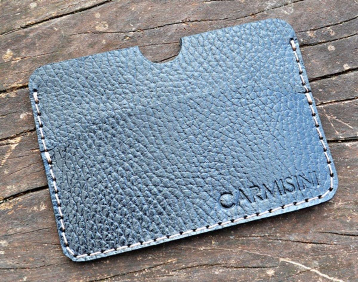 e05d02278 carteira e porta cartões ultra fina slim couro legítimo - carteiras  carmisini