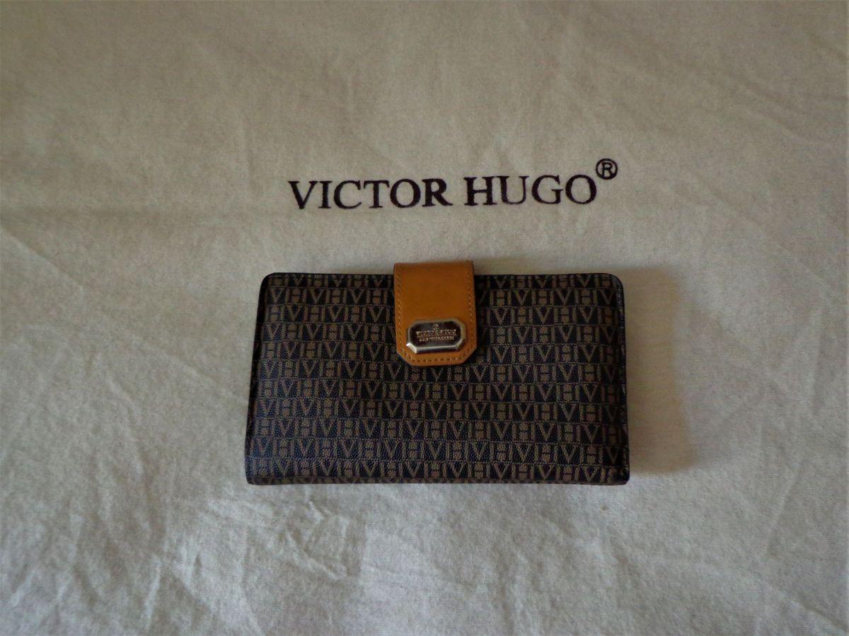 Carteira Victor Hugo Original Couro!   Carteira Feminina Victor Hugo ... 1971697b6e