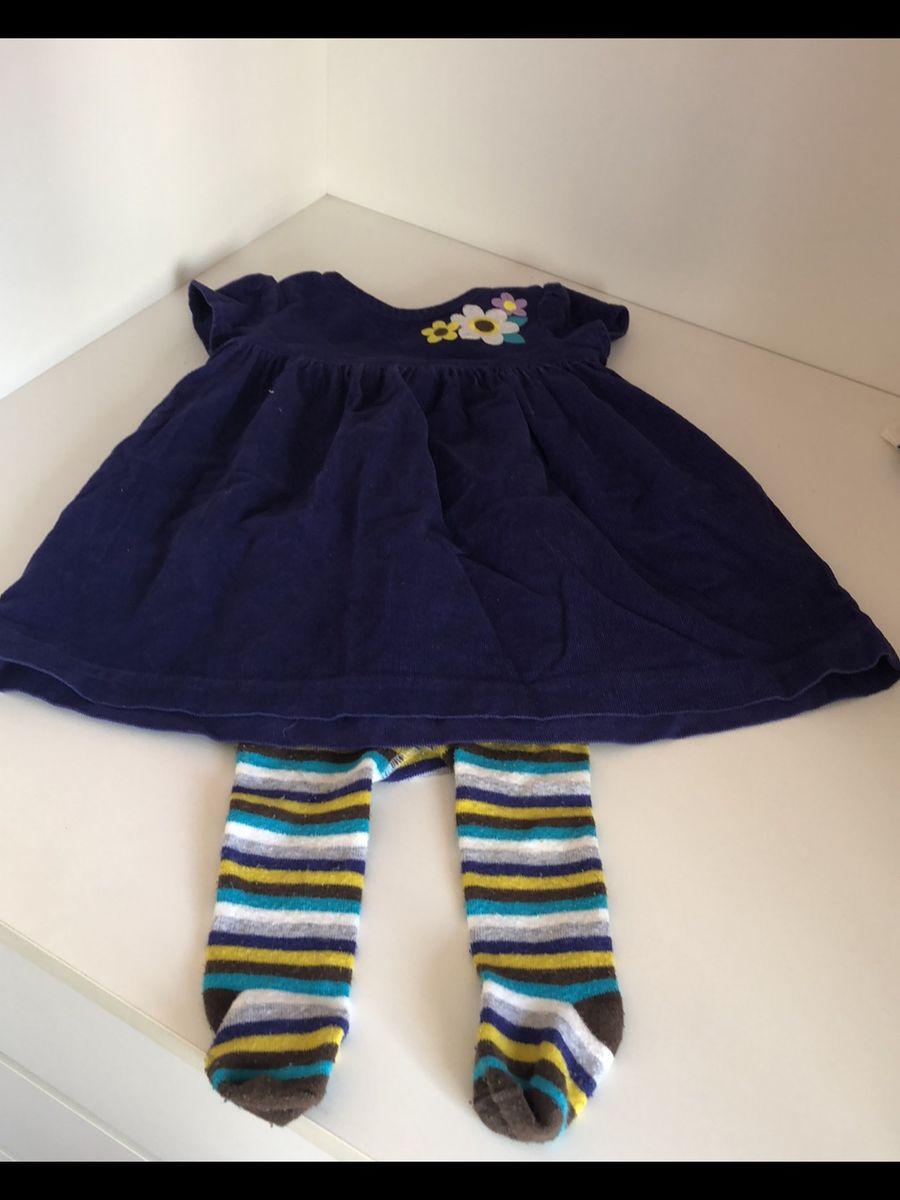 9d8763480 carter s vestido com meia calça - menina carter s
